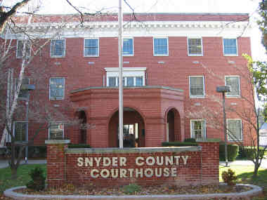 Snyder Co Courthouse