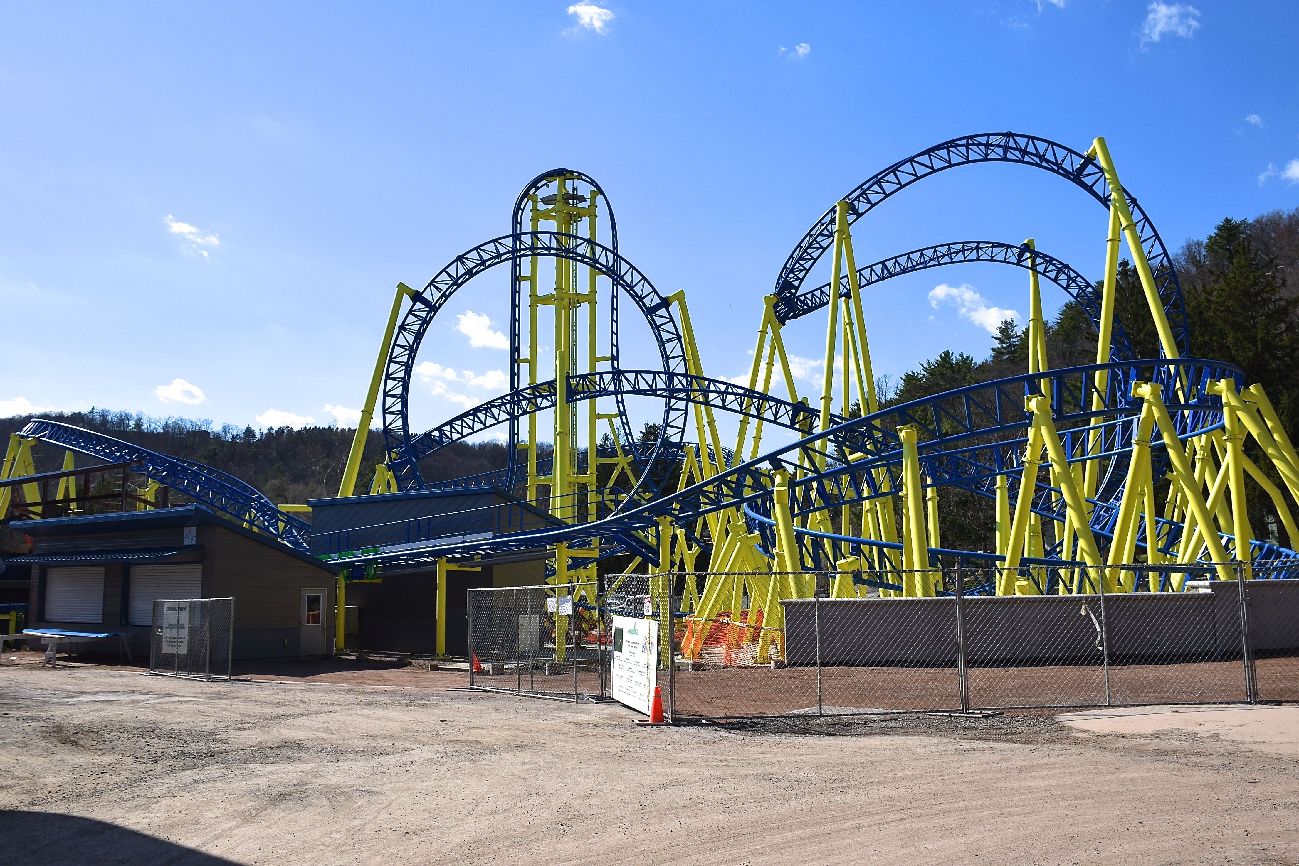 Knoebels puts finishing touches on their newest ride, u0026quot;Impulseu0026quot;
